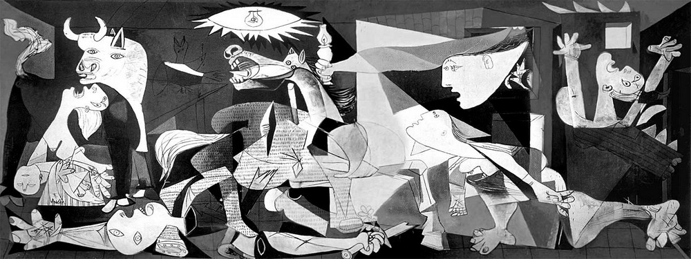 ГЕРНИКА Пикассо. Война в Городе мира