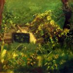 Заброшенный дом; 50х40; масло, картон; 2015; Анна Колесник
