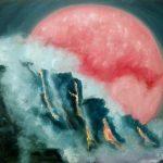 Плутон, серия Планеты и Светила; 50х40; масло, картон; 2017; Художник Анна Колесник
