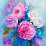 Цветочное-настроение-30Х40-холст-масло-2014-Орлова-Юлия