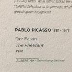 Великие художники галереи Альбертина, картины маслом - Пабло Пикассо.