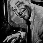 Duke Ellington, 40х50, графитовые карандаши, 2020 - Негода Евгения