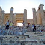 Акрополь в 8.30 утра