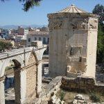 Афины-Городской пейзаж,заказать роспись стены в греческом стиле