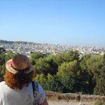 Афины,картина на заказ,городской пейзаж