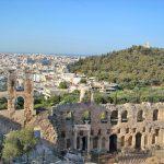 Вид с Акрополя-пейзаж на заказ