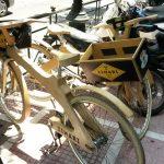 Деревянных велосипедов много
