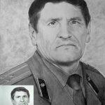 Иван Ильич Самойлов (СЭМ), акв.бумага,карандаш,20х30,2019г.-Олег М. Караваев