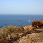 Катамаранчик в Эгейском море