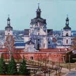 ПЗС - Крепость XIV в. холст, масло, 25х35, 2017г.Геннадий Кривушин