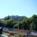 Линия метро и Парфенон
