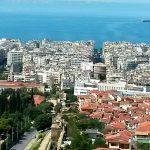 Пейзажи Греции-Салоники-картина маслом на заказ
