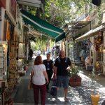 Улочки под Акрополем