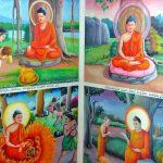 Живописные работы В одном из островных монастырей
