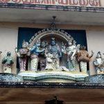 Индийский храм в Шри Ланке..