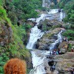 Самый большой водопад Шри Ланки