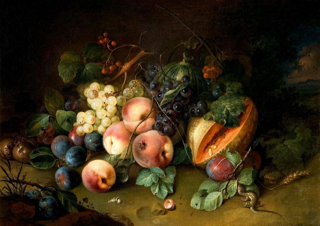 Johann Amandus Wink (1748 - 1817) натюрморт