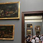 Дрезденская картинная галерея-картины великих мастеров прошлых веков