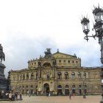 Пейзажи Дрездена.
