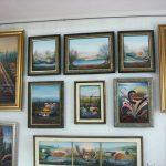 Работы Александра Кольцова,живопись