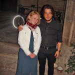 Анна Прохорова с барабанщиком муз.группы фламенко