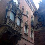Архитектура Барселоны,заказать картину маслом11