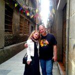 Архитектура каталонской Столицы 9-На экскурсии, Барселона-Отец и Дочь-художники )