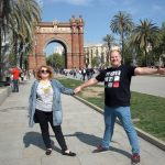 Барселона и в частности Триумфальная арка в эти дни принадлежали нашему Порталу )).