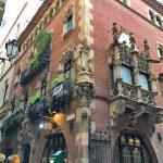 Городской пейзаж Барселоны1
