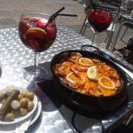 Каталонская еда и продукты-креветки