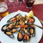 Каталонская еда и продукты-мидии