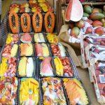 Каталонская еда и продукты-фрукты