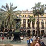 Королевская площадь Барселоны