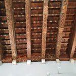 Музей П.Пикассо,интерьер,потолок