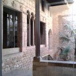 Музей П.Пикассо,интерьер, выход во двор