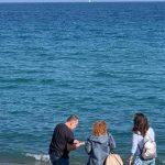 На берегу Средиземного моря