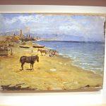Пейзажи Пикассо-Пляж Барселонета.