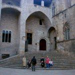 Площадь Королей-По этой лестнице шел Колумб