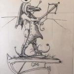 Рисунки Сальвадора Дали2
