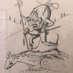 Рисунки Сальвадора Дали3