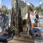 Саграда Фамилия-будущий храм в полном объёме-макет