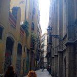 Улочки старой Барселоны, заказать картину
