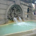 Фонтаны-Городской пейзаж Барселоны8