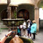 Фонтаны-Дворики Барселоны-фонтаны, картины маслом