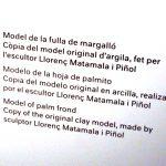 Музей Антонио Гауди, экспонаты Саграда Фамилия-Макеты