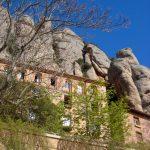 Монастырь Монтсеррат нап горе Монтсеррат.