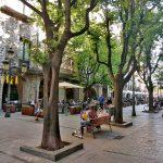 Уютные скверы и улицы Жироны