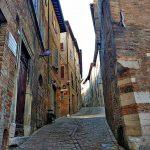 Город Урбино, Италия-заказать картину - городской пейзаж
