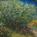 Vincent Van Gogh (1853-1890) Lilac Bush (Spring 1889).The Hermitage Museum, St. Petersburg
