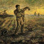 Vincent Van Gogh- Evening The End of the Day (after Millet)(Nov. 1889)- Menard Art Museum (Japan)